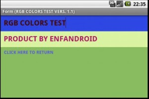 Screenshot of COLORS RGB HEX PANTONE  PRO