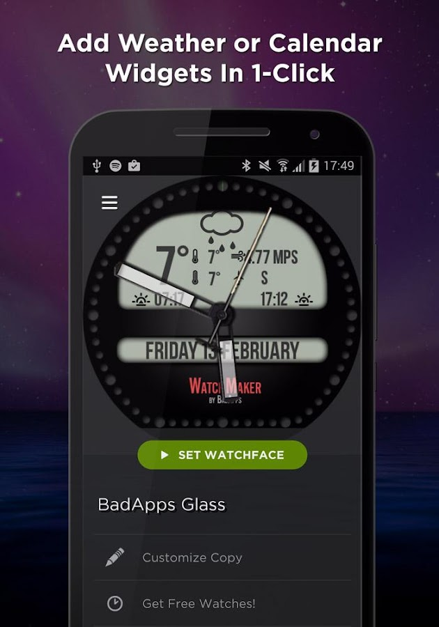 WatchMaker Watch Faces Screenshot 4