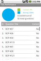 Screenshot of Business Continuity Exam Prep