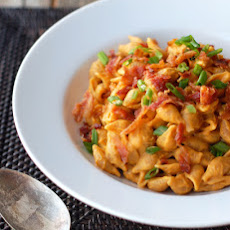 Healthy Bacon & Pumpkin Pasta