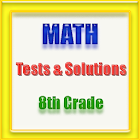8th Grade Math Tests&Solutions icon