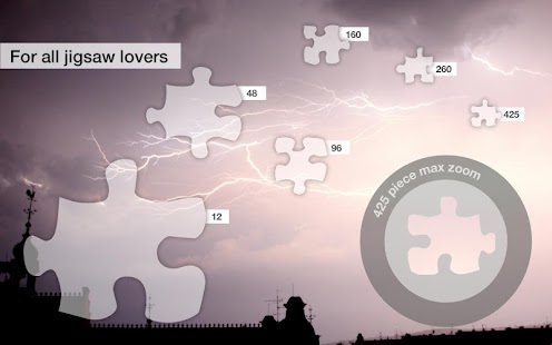 Jigsaw Puzzles: Storms - screenshot