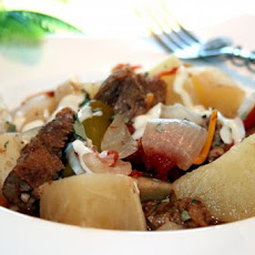 Bayrischer Gulasch: German Goulash Stew - Crock Pot or Oven