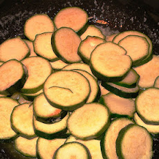 Zucchini Rounds Side Dish ( Sandra Lee - Semi-Homemade )