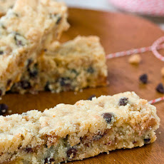 Toffee-Chocolate Chip Shortbread