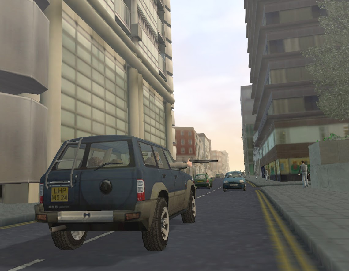 E3 2004: The Getaway sequel revealed in full