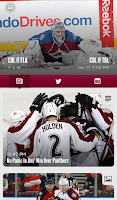 Screenshot of Colorado Avalanche Official