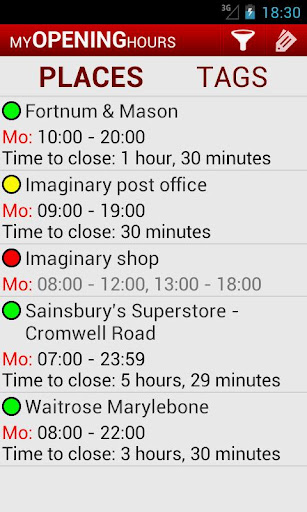 My Opening Hours Pro