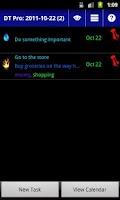 Screenshot of Droid Task Lite