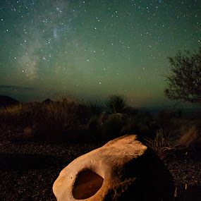 Night Portal by Launa Bodde - Landscapes Deserts