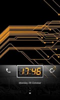 Screenshot of MIUI Circuit theme Go Locker