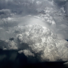 Extreme Updraft by Robert Sinner-Storm Chaser - Landscapes Cloud Formations