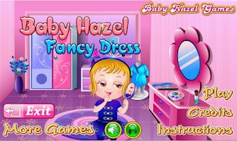 Screenshot of Baby Hazel Fancy Dress