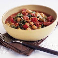 Speedy Chorizo With Chickpeas