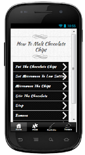 How To Melt Chocolate Chips - screenshot