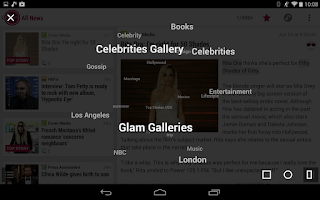 Screenshot of GLAMLIFE