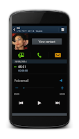 Screenshot of Phonnix Voicemail Beta
