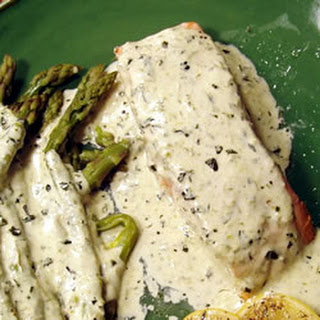 Salmon in Creamy Silk Sauce