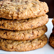 Blended Oatmeal Chocolate Chip Cookies