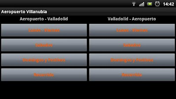 Screenshot of Valladolid-Aeropuerto