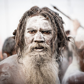 Naga Sadhu by Julie Higelin - People Portraits of Men ( religion, kumbh mela, india, sadhu, naga sadhu )