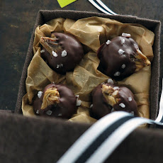Chocolate Dipped Figs with Sea Salt
