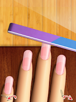 Screenshot of More Nails: Mani Makeup Games