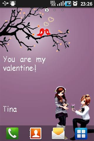 Love Valentine Live Wallpaper