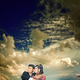 first in wedding by Anthony Bagaskara - Wedding Bride & Groom