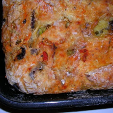 Savory Shrimp  and Couscous Pie
