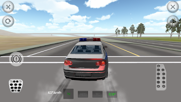 Screenshot of Extreme Police Car Driver 3D