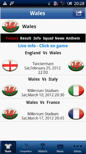 Six Nations LIVE – Wales