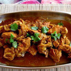 Sylet Red Chicken Curry