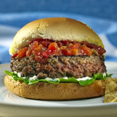 Mario Batali's Juicy Salsa Burger