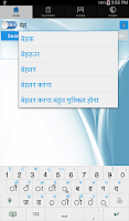 Screenshot of Hindi Dictionary