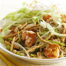 Asian Rice Salad With Shrimp