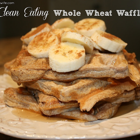 Clean Eating Whole Wheat Waffles