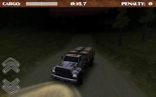 Screenshot of Dirt Road Trucker 3D