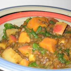 Lentil and Pumpkin Curry