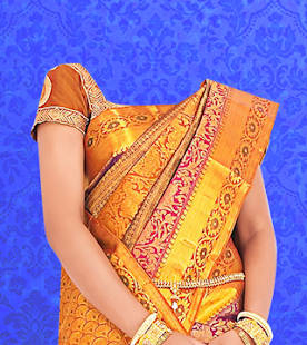 Woman Saree Photo - screenshot
