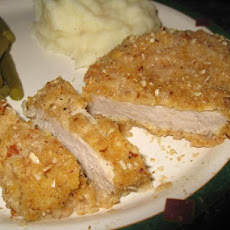 Almond Crusted Pork