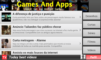 Screenshot of tv gratis
