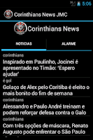 Screenshot of Corinthians News JMC.