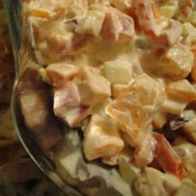 Savory Sweet Potato Salad