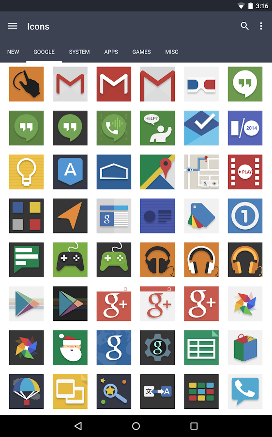 Evo Icon Pack Screenshot 7