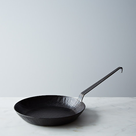 Turk Extra High Edge Criss-Cross Forged Iron Fry Pan