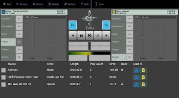 Screenshot of Zulu Free DJ Mixer