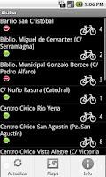 Screenshot of BiciBur