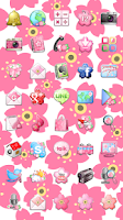 Screenshot of Cherry Blossom Theme