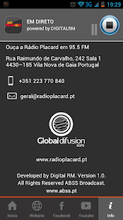 Rádio Placard - screenshot